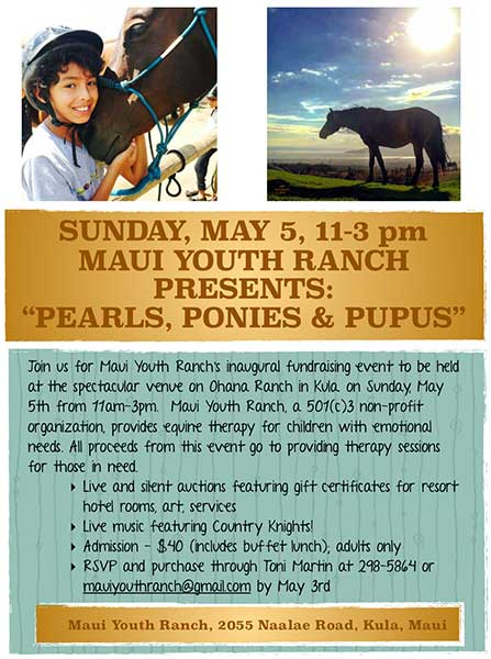 Maui Youth Ranch 2019